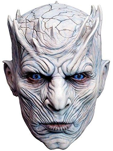 Máscara de disfraz para adulto de látex del Rey de la Noche de Juego de...
