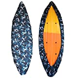GYMTOP 7.8-18ft Waterproof Kayak Canoe Cover Camouflage - Outdoor...