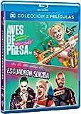 Pack Escuadrón suicida + Aves de Presa (Y la fantabulosa emancipación de Harley Quinn) [Blu-ray]