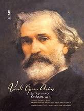 Verdi - Opera Arias for Soprano & Orchestra, Volume III: Music Minus One Soprano