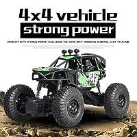 Ycco 2.4GHzのラジコン車4WD合金RCオフロードバギーワイヤレス充電式RCクライミングカーモンスタートラック1時22分の高速リモートコントロール車の雪砂利草原エンターテイメント玩具のために