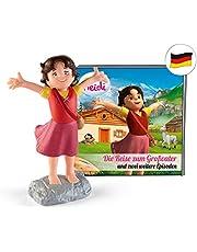 tonies 01-0032 - Figuras de audición para Caja Toniebox: Juego de música Heidi (El Viaje al Abuelo con 12 Historias y Canciones, Aprox. 60 Minutos, a Partir de 5 años, en alemán)