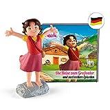 tonies Hörfiguren für Toniebox: Hörspiel Heidi - Die Reise zum Großvater Figur mit 12...