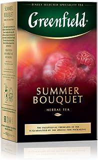 Greenfield Summer Bouquet, Hibiskus, Hagebutte, Apfel, Himbeere, Koffeinfrei, Loser Früchtetee, 100g