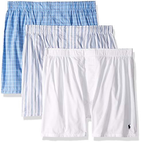 Polo Ralph Lauren Herren Boxershorts, klassisch, gewebt, 3 Stück - - X-Groß