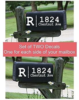 Best mailbox decal Reviews