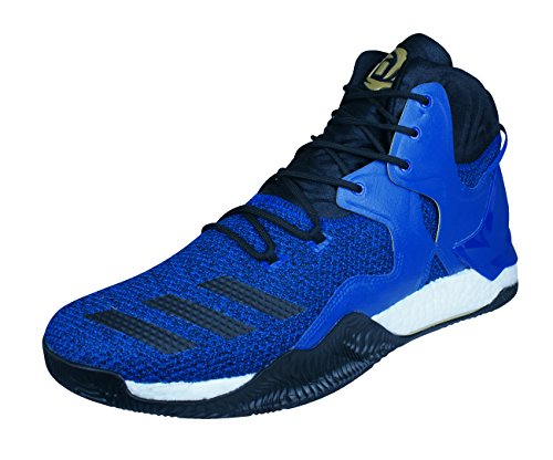 adidas D Rose 7 Herren-Basketball Turnschuhe/Schuhe-Blue-48.67