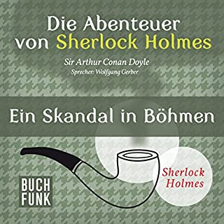 Ein Skandal in Böhmen (Die Abenteuer von Sherlock Holmes) Titelbild