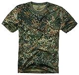 Brandit Camiseta, Muchos (Tarn Colores, Tallas S hasta 7XL - Flecos Camuflaje, XL