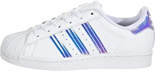 adidas Originals Kids' Superstar Pump, White/White/White, 5