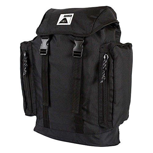 POLER Bag Rucksack, 51 cm, 25 L, Black Sp17