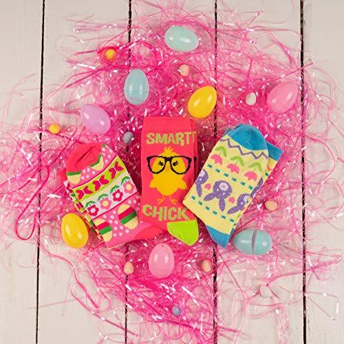 Product Image 4: Easter Crew Socks, Chicks/Bunny Fair Isle/Easter Fair Isle Socks (3 Pack)