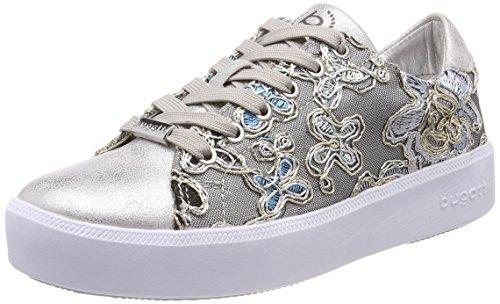 bugatti Damen 421407055969 Sneaker, Silber (Silver/Multicolour 1381), 38 EU