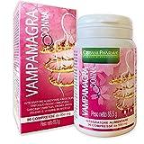 Vampamagra, integratore menopausa, 90 compresse   Riduce le vampate e Favorisce l'equilibrio del peso corporeo  con TRIFOGLIO ROSSO, Isoflavoni di Soia, Cimicifuga, Garcinia Cambogia   Cisbani Pharma