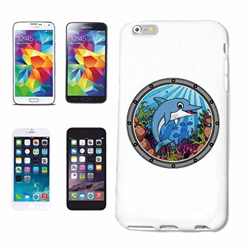 Reifen-Markt Hard Cover - Funda para teléfono móvil Compatible con Apple iPhone 6+ Plus Feliz Delfines del OCÉANO Delfines Delfines DELPHINIDAE cetáceos Flipper MA