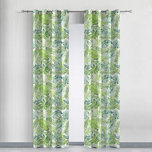 cortinas estampadas de salon