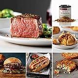 Deluxe Assortment from Omaha Steaks (Butcher's Cut Filet Mignons, Omaha Steaks Burgers, Gourmet Jumbo Franks, Steakhouse Hash Browns, Caramel Apple Tartlets, and Signature Seasoning)