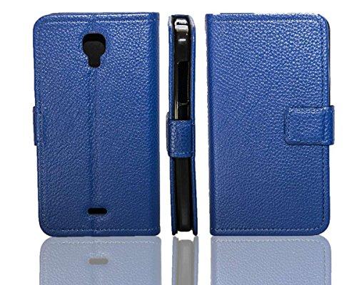 caseroxx Tasche für Wiko Bloom Bookstyle-Case in blau Hülle Buch