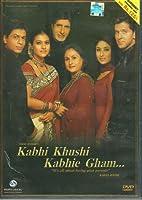 Kabhi Khushi Khabhie Gham Bollywood DVD With English Subtitles