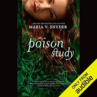 Poison Study audiobook cover art