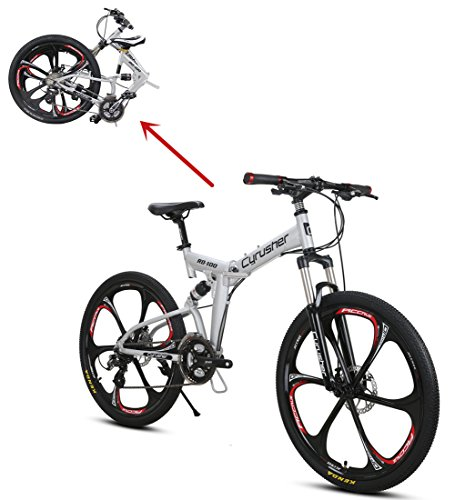 Extrbici Vélo Tout Terrein 26' RD100 VTT Pliant...