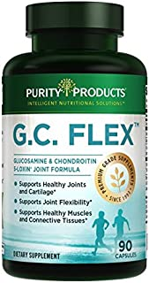 Sponsored Ad - G.C. Flex (Glucosamine and Chondroitin Sulfate Super Formula) - Supports Joint + Cartilage Health + Healthy...