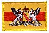 Flaggen Aufnäher Deutschland Großherzogtum Baden Fahne