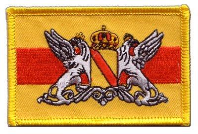 Aufnäher Patch Flagge Deutschland Großherzogtum Baden - 8 x 6 cm
