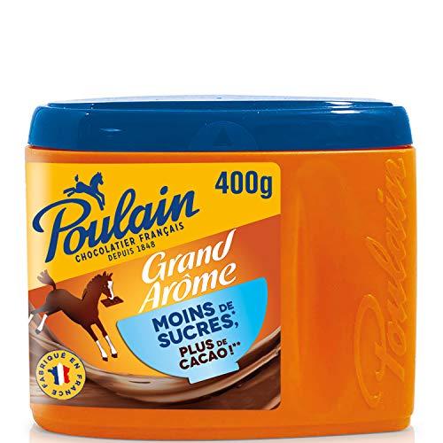 Poulain Chocolat grand Arôme Moins de Sucre, 400g