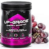 UP-GRADE - Energy Drink Pulver - Polvo de Cafeína para una Mayor Concentración en los E-Sports - 600 g 60 Porciones (Red Grape)
