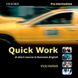 Quick Work Pre-Intermediate Audio CD