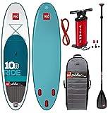Red Paddle Set 10.8' inkl. Paddel Familienboard TenEight Surfer RedAir SUP Board -