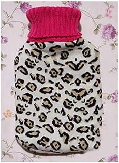 Warmwaterfles, cadeauset, hals, taille, benen, buik, verjaardag, beste cadeaus voor geliefden, ouders en kinderen, 2000 ml...