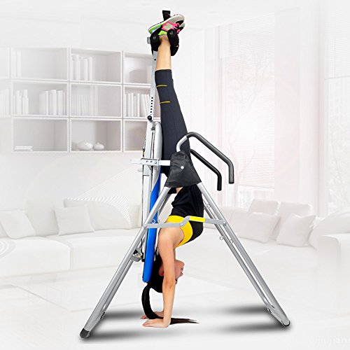 Cheapest Price! ZENOVA Gravity Inversion Table,Strength Training Back Support,Back Therapy,Height Ad...