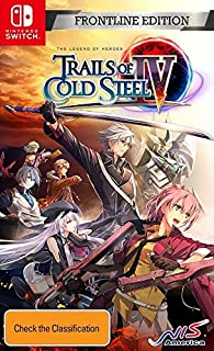 The Legend of Heroes: Trails of Cold Steel IV Frontline Edition - Nintendo Switch