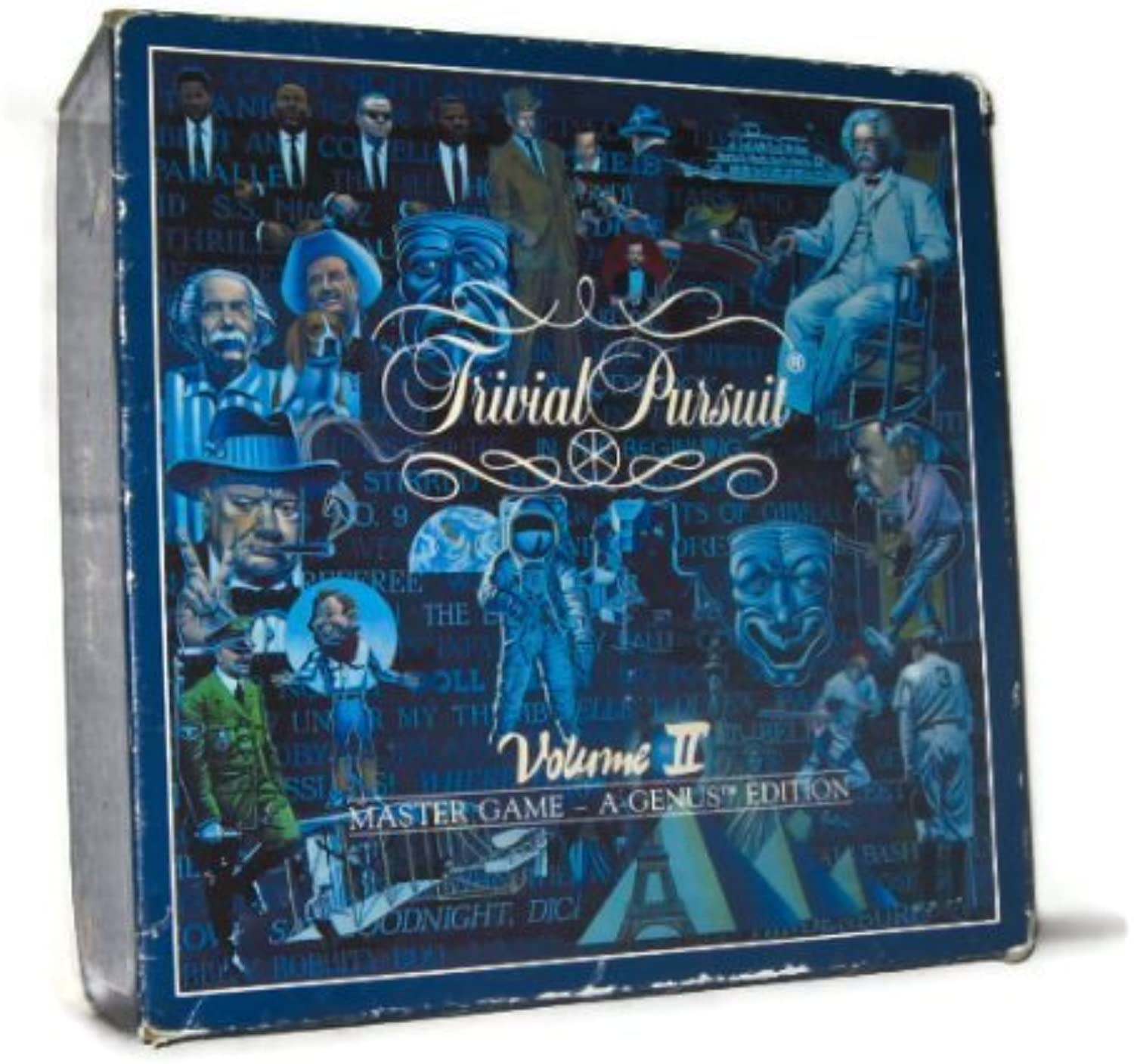 Trivial Pursuit Volume II Master Game  A Genus Edition by Horn Abbot LTD