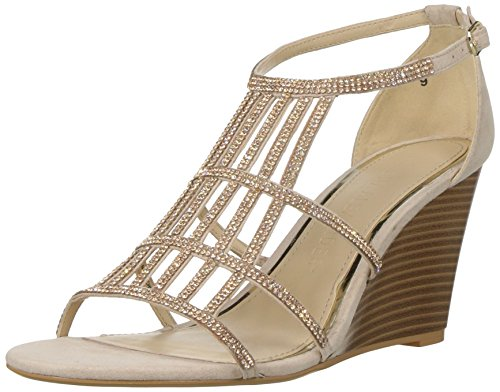 Athena Alexander Women's Hampton Wedge Sandal, Blush Suede, 9 M US