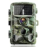 【2020 Upgrade】 Campark Trail Game Camera 16MP 1080P Night Vision Waterproof Hunting Scouting