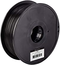 Monoprice ABS Plus+ Premium 3D Filament - Black - 1kg, 1.75mm Thick | 40% Stronger Than Ordinary ABS | For All ABS Compatible Printers