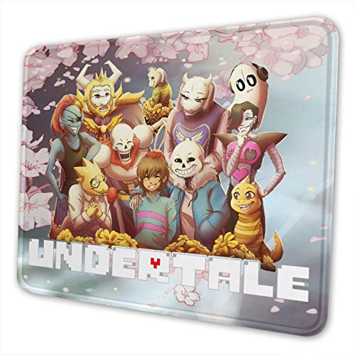 Undertale Textured Mouse Pad, Non-Slip Mouse Pad for Laptops, Computers.