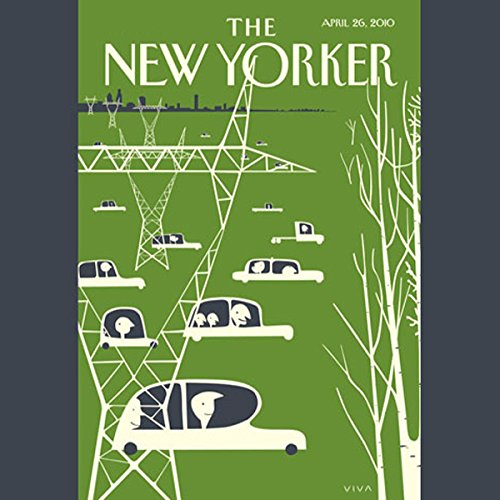 The New Yorker, April 26th, 2010 (Jane Kramer, Dana Goodyear, Hilton Als) cover art