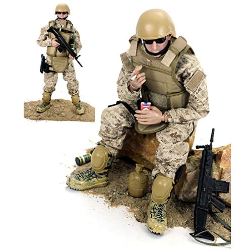 Batop 1/6 Soldat Modell, 12 Zoll Soldaten Spielzeug Figuren Militär Actionfiguren Modell - Navy Seal