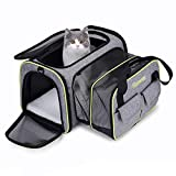 DADYPET Pet carrier, Expandable Travel...