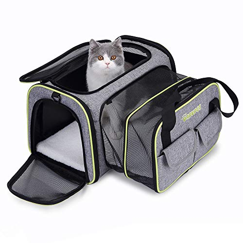 DADYPET Sac de Transport Extensible pour Chat...