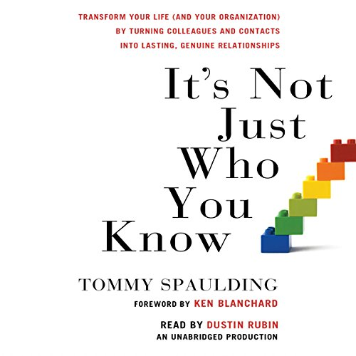 It's Not Just Who You Know audiobook cover art