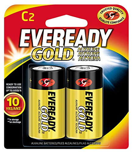 Envirofit Energizer C2 EVEREADY Alkaline Battery, 100