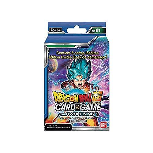 Bandai- Starter Serie 1 Dragon Ball, Azul