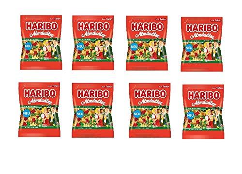 8 Tüten Haribo Almdudler a 175g ( 8 x 175g) Fruchtgummi mit Kräuter-, Himbeer- und Holundergeschmack