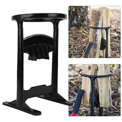 Quick Holzspalter Manuell Spaltwerkzeug Spaltkeil für Sicher Holzspalter Stahlkeilspitze spaltet Brennholz Einfach & Sicher