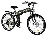 TUCANO - Marnaula HIDEBIKE MTB - Motor 250W -36V -Grado Máximo de Escalada - Bateria Extraible y con Cierre de Seguridad - Cambio Shimano Tourney 21 SP - (HIDEBIKE Verde-Green)
